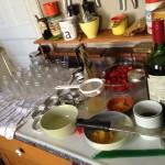 canning set-up