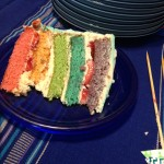 That's right.  Rainbow cake.